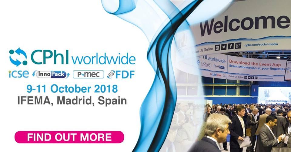 CPhI Worldwide 2018 Madrid, Spain