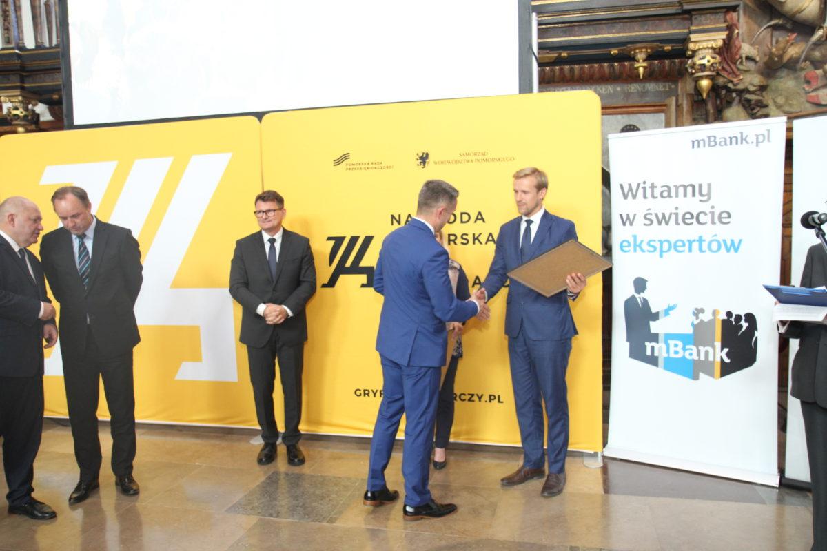 """Biovico finalistą Konkursu o Nagrodę Pomorską """"Gryf Gospodarczy 2018"""" w kategorii Lider Innowacji""""."""